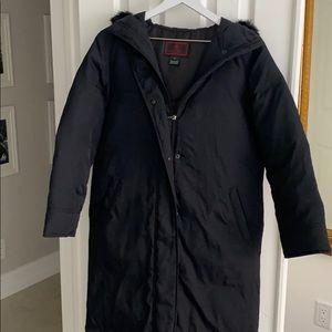 Ralph Lauren Long Down Winter Coat - Black